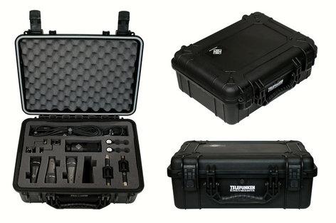 Telefunken Elektroakustik DC6 Drum Microphone Package With 6 Microphones DC6