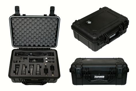 Telefunken Elektroakustik DC7 Drum Microphone Package With 7 Microphones DC7