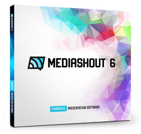 Media Shout MediaShout 6 [UPGRADE] Church Presentation Software (WIN) MEDIASHOUT-6-UG