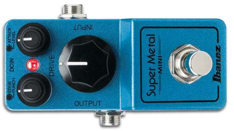 Ibanez SMMINI Super Metal Mini Effect Pedal SMMINI