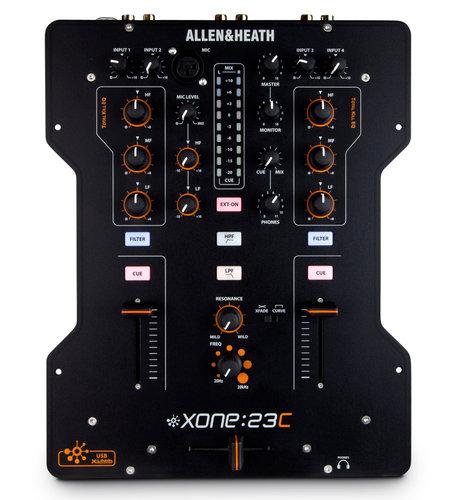 Allen & Heath-Xone XONE:23C DJ Mixer with Internal Soundcard XONE-23C