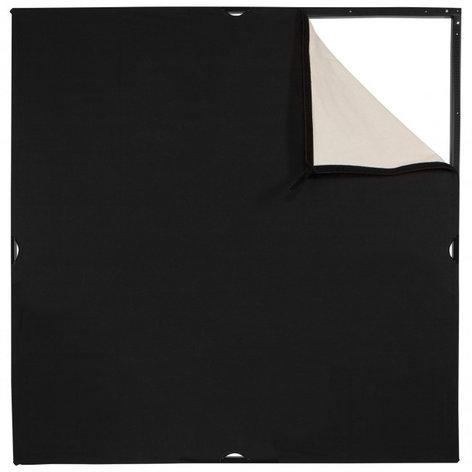 Westcott 1948 Scrim Jim® Cine 4' x 4' Unbleached Muslin/Black Fabric 1948
