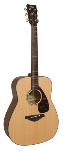 Yamaha FG800 Acoustic Guitar with Solid Sitka Spruce Top, Scalloped Bracing FG800