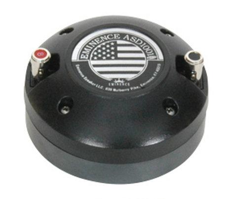 "Eminence Speaker ASD-1001B HF Driver, Bolt On 1"" 50W 8 OM ASD-1001B"
