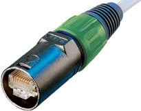 Neutrik NE8MC-B-1 RJ45 Cable Connector, Black NE8MC-B-1