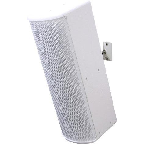 Galaxy Audio LA4W Line Array Speakers, 125 Watt, White LA4W