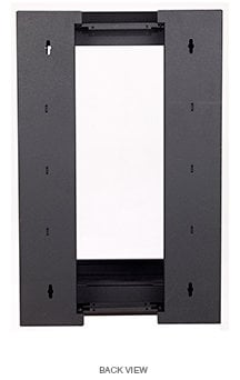 Lowell LWSR Swingout Wall Rack 16U 22-Inch Deep LWSR-1622