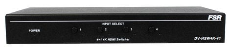 FSR DV-HSW4K-41  4x1 HDMI Switcher and 4K Resolutions DV-HSW4K-41