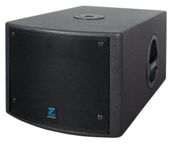 Yorkville NX200S Powered Subwoofer, 10 Inches. 200 Watts, Black NX200S