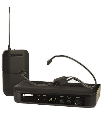 Shure BLX14/P31-H10 Wireless Headset System, Operates Between 542 and 572 MHz BLX14/P31-H10