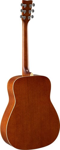 Yamaha FG820L Left-Handed Acoustic Guitar with Solid Spruce Top, Mahogany Back & Sides FG820L