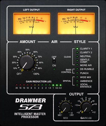 Softube Drawmer S73 Intelligent Master Processor Multi-Band Compression Plugin DRAWMER-S73