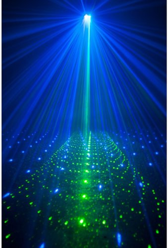 ADJ Royal 3D II Blue and Green Laser Effect ROYAL-3D-II