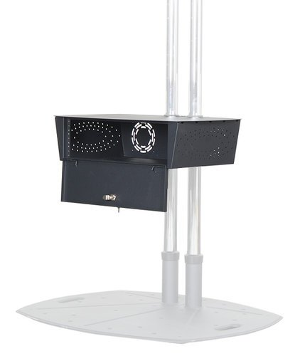 Premier Mounts PSD-GBSHLF [RESTOCK ITEM] GearBox Secure Storage Shelf for Carts and Stands PSD-GBSHLF-RST-01