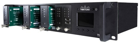 Teradek T-RAX Base Rack System Chassis with Controller TER-TRAX-1100