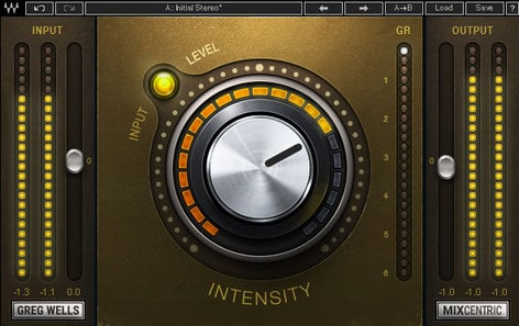 Waves Greg Wells MixCentric Mix Finalizing and Mastering Plugin GWMC