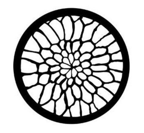 Rosco Laboratories 77500  Soft Web Steel Gobo 77500