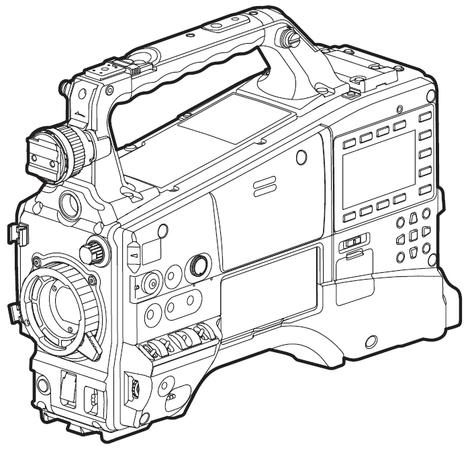 "Panasonic AJ-PX380G HD 1/3"" 3MOS P2 Camcorder, Body Only AJ-PX380G"