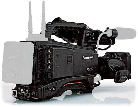 Panasonic AJ-PX380GF AVC-ULTRA Camcorder with AG-CVF15G Color LCD Viewfinder and FUJINON 17x Zoom Lens AJ-PX380GF