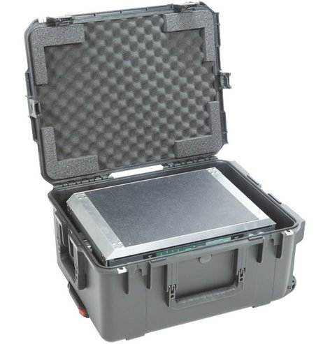 SKB Cases 3i-2217-103U Fly Rack iSeries Waterproof Case with ATA Removable 3RU Shock Rack 3I-2217-103U