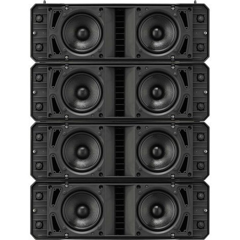 TOA HX-7B  Variable Dispersion Speaker, 750 W, 8 Ohms, Black HX-7B