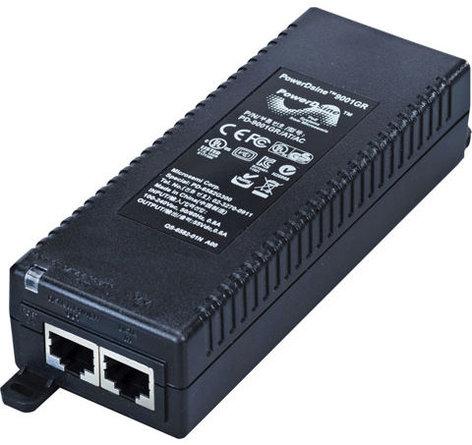 Vaddio PoE+ Midspan Power Injector Compatible with ROBOSHOT™ 12 451-0800-055
