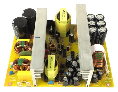 Behringer Q04-A8O02-09643 Power Supply PCB for PMP4000 and PMP6000 (Revision B) Q04-A8O02-09643
