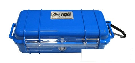 Pelican Cases PC1030-SBL Micro Case Solid Blue PC1030-SBL
