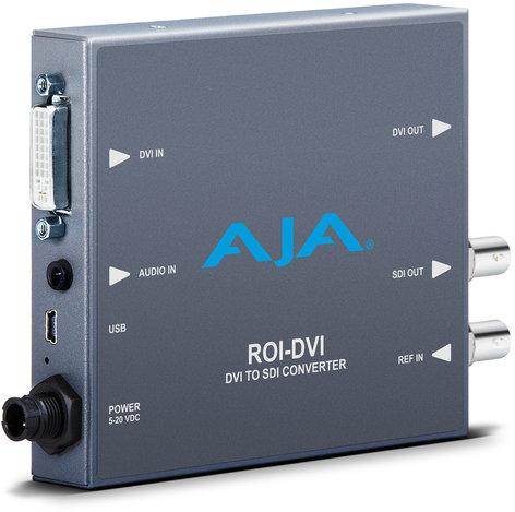 AJA Video Systems Inc ROI-DVI DVI/HDMI to SDI Converter with ROI Scaling ROI-DVI