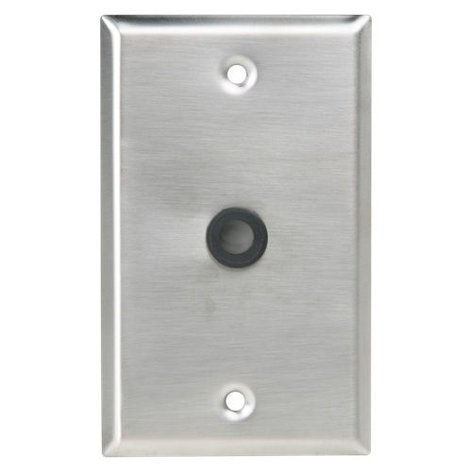 "Atlas Sound Wall Plate 3/8"" Hole with Grommet SG-38GH"