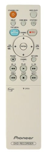 Pioneer VXX3095 Remote Control for DVR540HS VXX3095