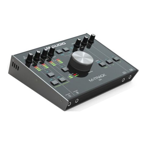 M-Audio M-TRACK 84 High Speed Audio Interface, USB-C, 8 x 4 M-TRACK-84