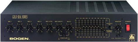 Bogen Communications GS150D Paging Mixer / Amplifier, 150-Watt GS150D