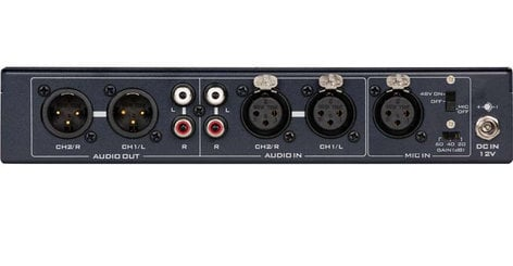 Datavideo Corporation AD-100M Audio Delay Box with Microphone Input AD-100M