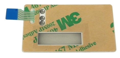 Lectrosonics 48098  HM Keypad Membrane 48098