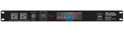 Atlas Sound ECS-204  20A Power Conditioner & Sequencer ECS-204