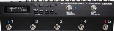 Boss ES-5 Switching System, Bass and Guitar Effects ES-5