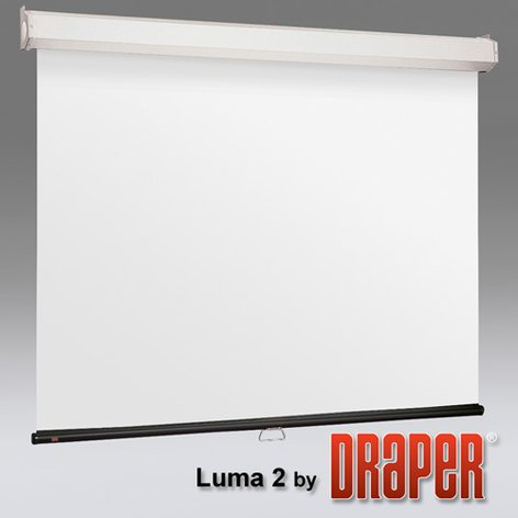 """Draper Shade and Screen Luma 2 Projection Screen 137"""" Projection Screen 206216EH"""