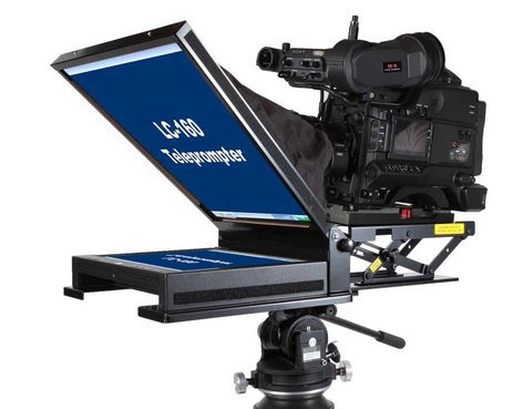 "Mirror Image Teleprompter 15"" Mid-Bright Teleprompter with HDMI,SVGA, and Composite Inputs LC-1550"