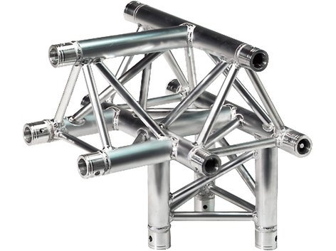 Global Truss TR-4097-U 4 Way T-Junction, Apex Up TR4097-U