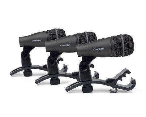 Samson DK703 3-Piece Drum Microphone Kit DK703