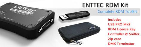 Enttec RDM Kit USB Pro 70531