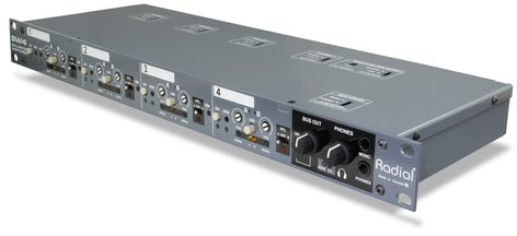 Radial Engineering SW4 Audio Switcher, 4 Channel SW4