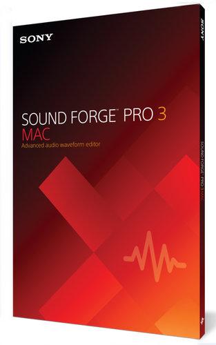 Magix Sound Forge Pro Mac 3 [DOWNLOAD] Advanced Audio Waveform Editor, Mac SFM3099ESD