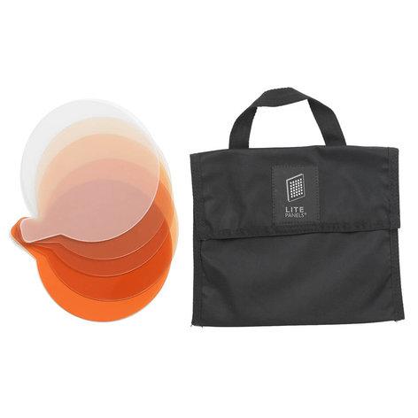 Litepanels Sola 6 5-Piece CTO with Gel Bag 900-6201