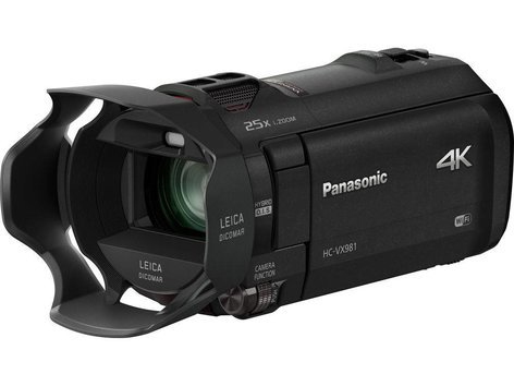 Panasonic HC-VX981K 4K Camcorder with 20x Optical Zoom HC-VX981K