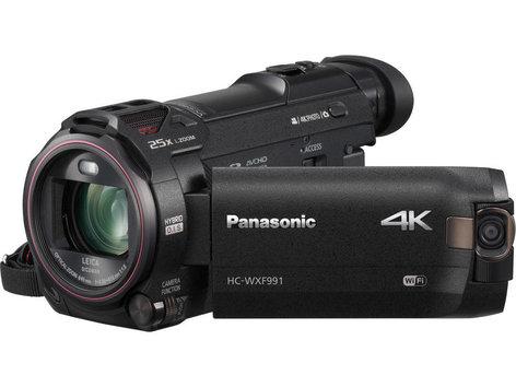 Panasonic HC-WXF991K 4KCamcorder with 20x Optical Zoom HC-WXF991K