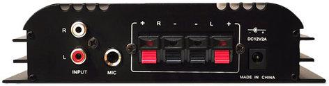 Pyle Pro PFA400U 100W Amplifier With USB Flash And SD Memory Card Readers PFA400U