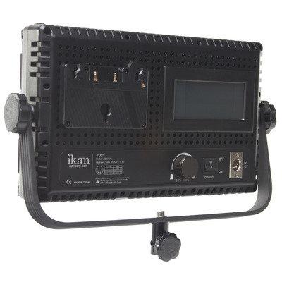 ikan Corporation IFD576-KIT 3-Point LED LIght Kit IFD76 with AB and V-Mount Plates IFD576-KIT
