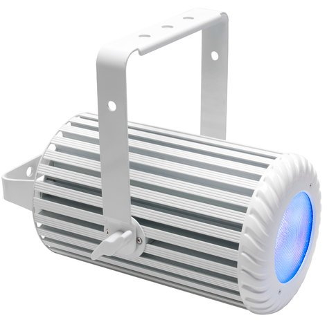 Elation Pro Lighting COLOUR PENDANT WH 110W RGBW LED Wash with Onboard E-Fly Transceiver in White COLOUR-PENDANT-WHT